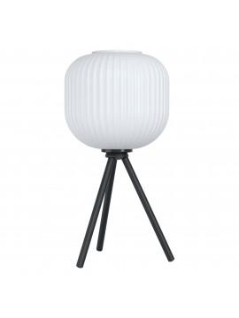 Lampada da tavolo moderna design vetro 1 luce GLO 99369 Mantunalle