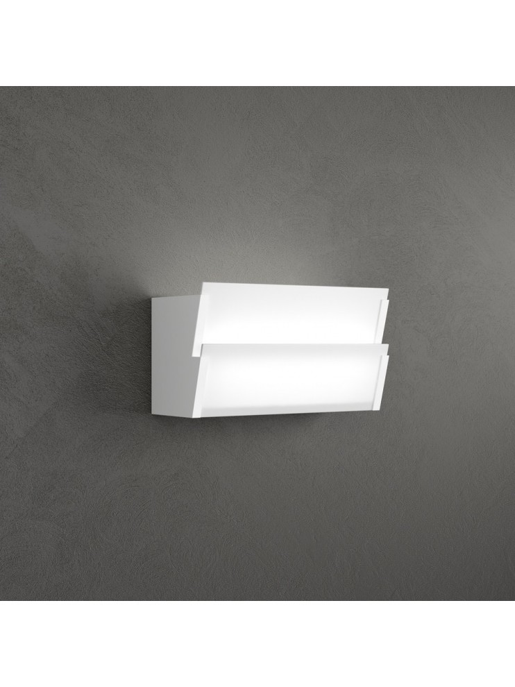 Applique 1 luce bianco modermo tpl1131-ap