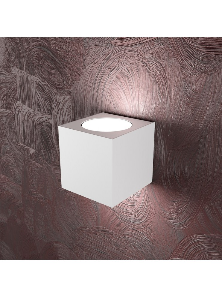 Applique moderno 1 luce bianco tpl 1127-ag