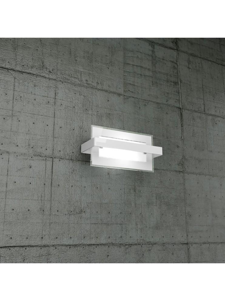 Applique moderno 1 luce bianco tpl1106-apbi