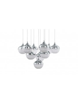Modern design crystal waterfall led chandelier GLO 39527 Mioglia