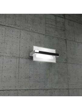 Wall light 1 light chrome glass tpl1106-apcr