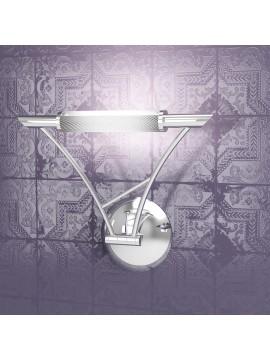 Applique 1 luce regolabile cromato tpl1012-acr