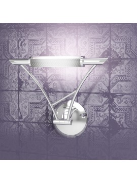 Wall light 1 adjustable light chrome tpl1012-acr