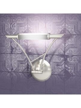 Applique 1 luce regolabile nickel tpl1012-ans