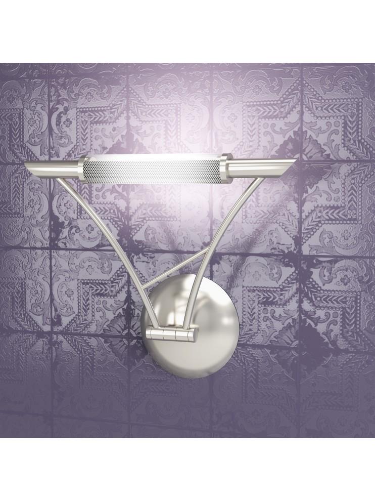 Wall lamp 1 light adjustable nickel tpl1012-ans