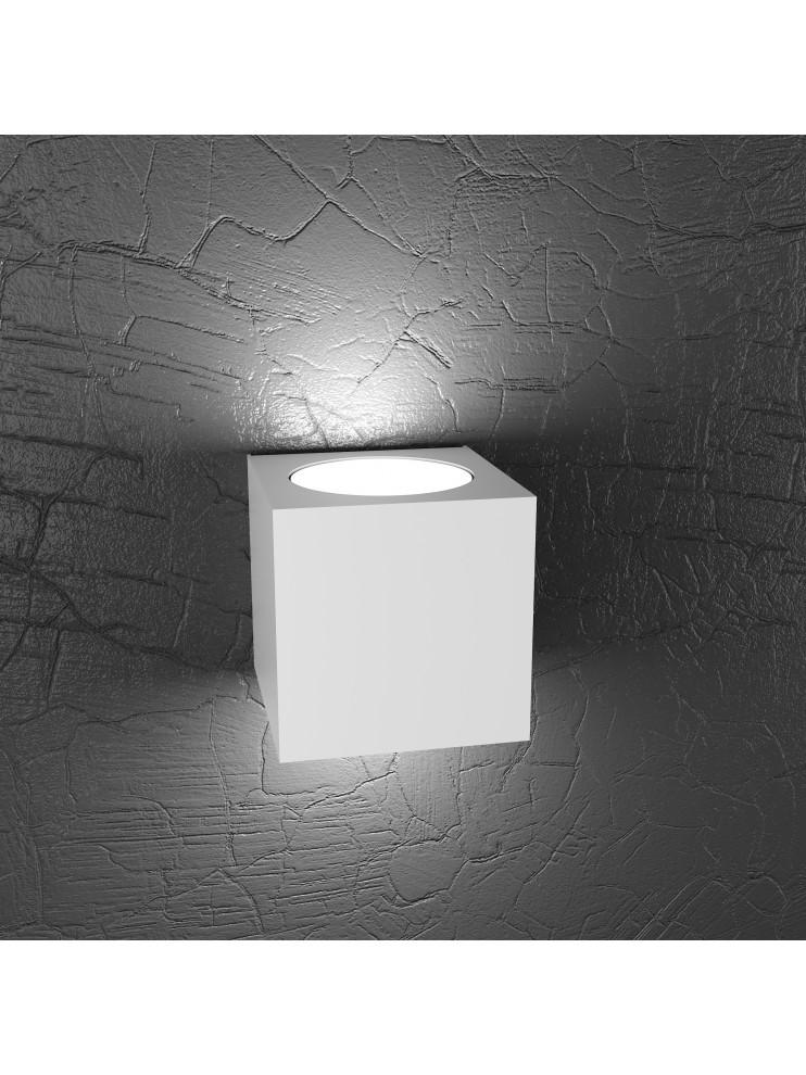 Wall lamp 2 lights modern design tpl1129-ag white