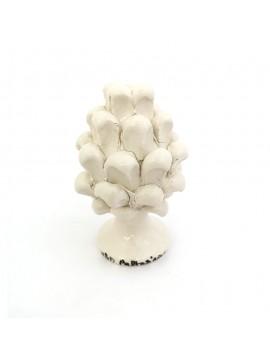 Pigna in ceramica di Caltagirone h10 cm fumè