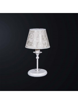Classic contemporary table lamp in wrought iron 1 light BGA 3133-lp