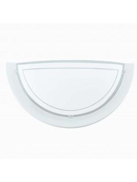 Applique classico in vetro bianco GLO 83154 Planet 1