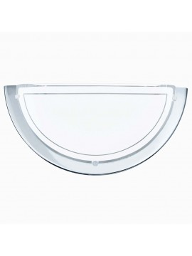 Applique moderno in vetro bianco GLO 83156 Planet 1
