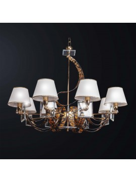 Classic swarovsky crystal design chandelier with 8 lights BGA 3165-8