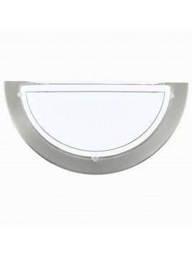Applique moderno in vetro bianco GLO 83163 Planet 1