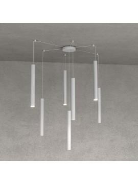Modern pendant lamp living room kitchen design gray with 7 lights tpl 0031