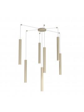Modern pendant lamp living room kitchen design turtledove with 7 lights tpl 0034