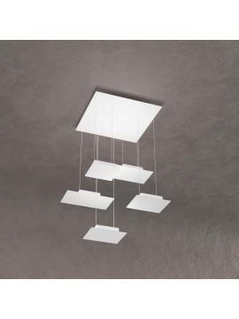Modern pendant lamp for living room white design with 5 lights tpl 0035
