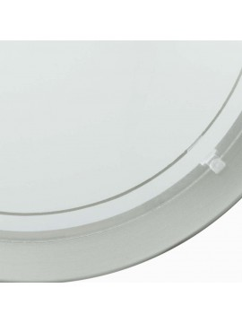 Contemporary white glass ceiling lamp GLO 83162 Planet 1