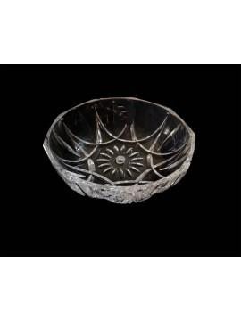 Bobeche tazza grande in cristallo collezione gialla Ø19,5