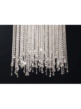 Plafoniera moderna in cristallo design swarovsky 8 luci BGA 3178-pl60
