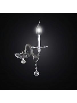 Contemporary crystal applique swarovsky design 1 light BGA 2226