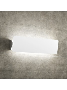 Applique 2 lights white with deflector tpl 1108-agbi