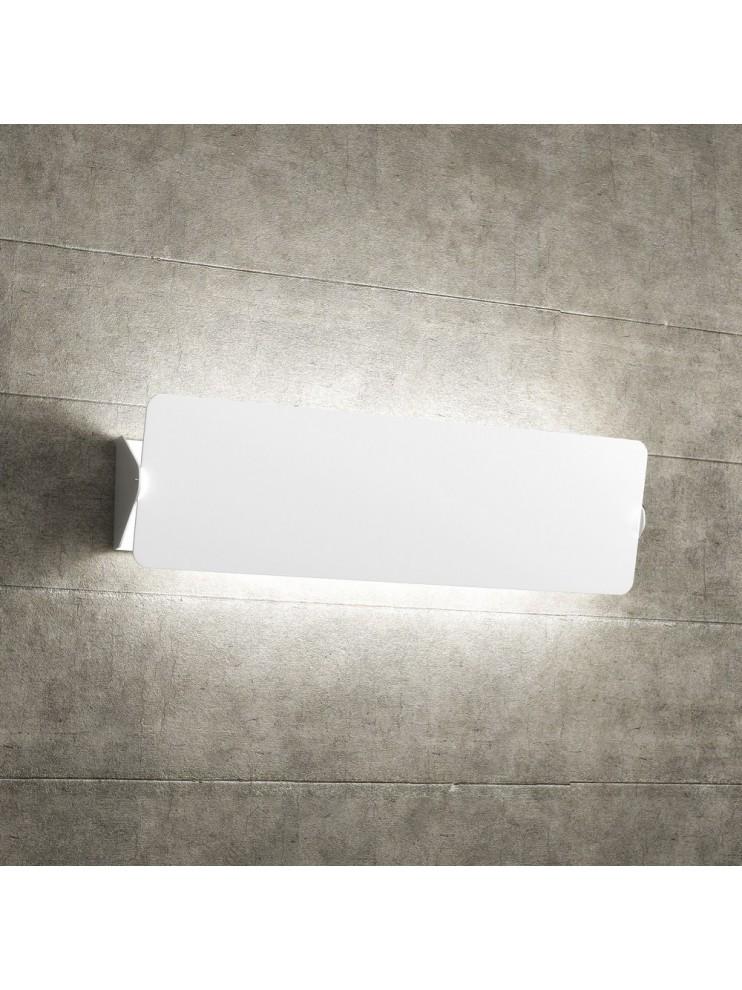 Applique 2 luci bianco con deflettore tpl1108-agbi