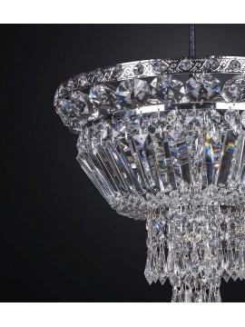 Classic swarovsky design crystal chandelier 3 lights BGA 2309-pl35