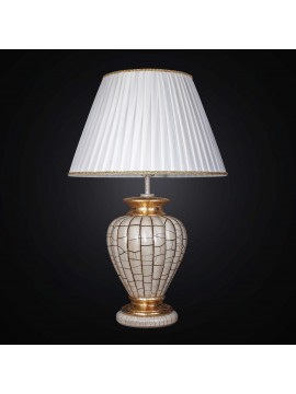 Classic large lamp in gold leaf ceramic with 1 lights BGA 2470-lg