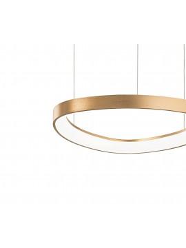 Modern gold led chandelier d.42cm kitchen living room DL1611