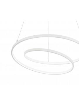 White modern design led chandelier for kitchen living room DL1615
