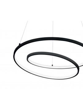 Black modern design led chandelier for kitchen living room DL1616