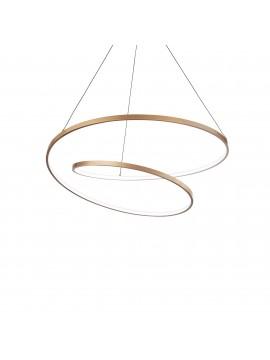 Modern design gold led chandelier for kitchen living room DL1617