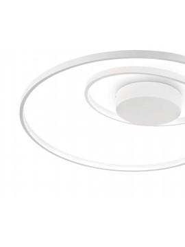 Plafoniera a led design moderno bianco per cucina soggiorno DL1618