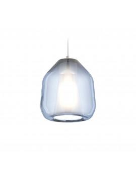 Modern blue pendant chandelier for kitchen bathroom 1 light tpl 0908