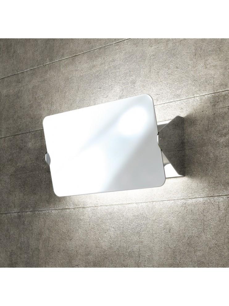 Wall light 1 light chrome with deflector tpl1108-amcr