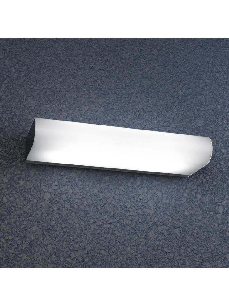 2 lights chrome wall lamp with white glass tpl 1107-am