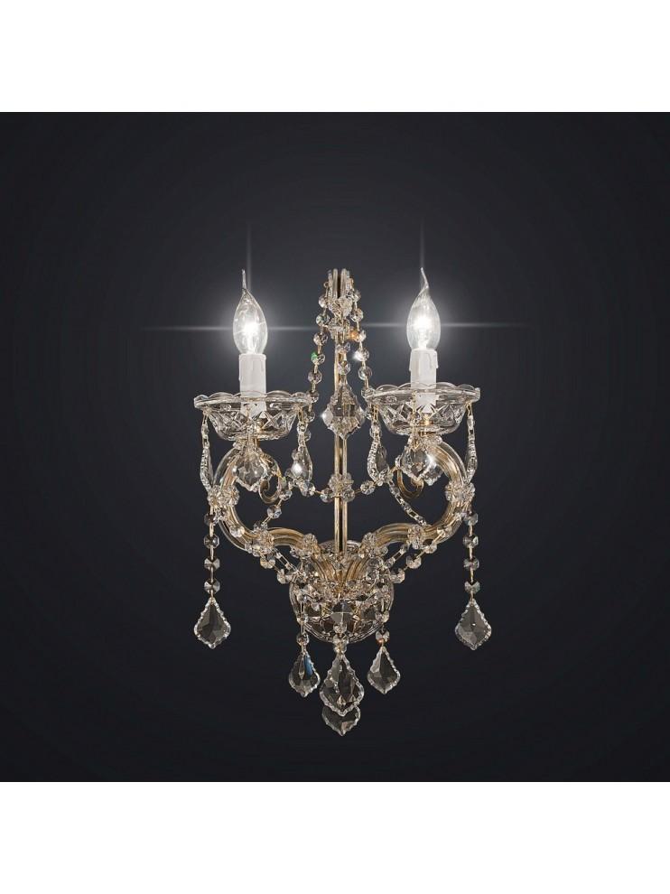 Applique in cristallo 2 luci Swarovsky BGA 1594