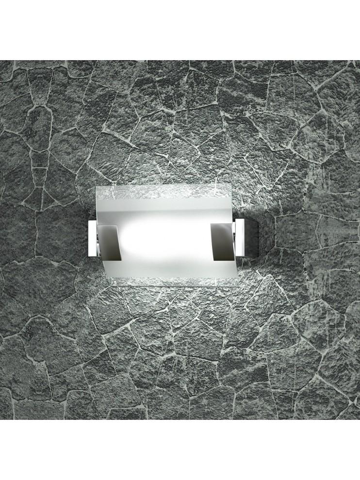 2 lights modern wall light satin glass tpl 1073-ap