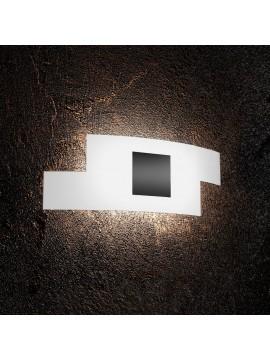 Applique moderno in vetro 2 luci tpl 1121/ap-ne