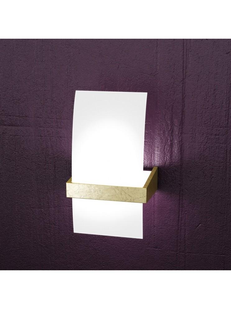Applique moderno legno 1 luce tpl 1019-apfo