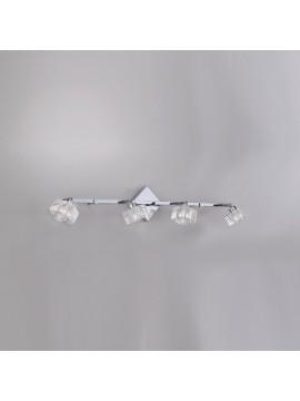 Modern wall lamp glass cube 4 lights tpl 1047-f4-g