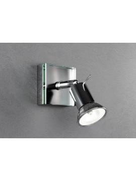 1 light modern spot light with tpl glass 1096-f1
