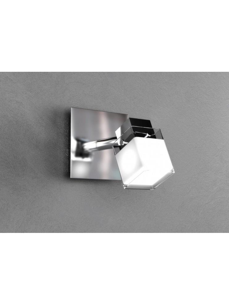 Modern spot light 1 light chrome plated tpl 1095-f1