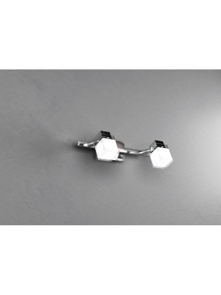 Modern spotlight 2 lights chrome lamp tpl 1095-f2