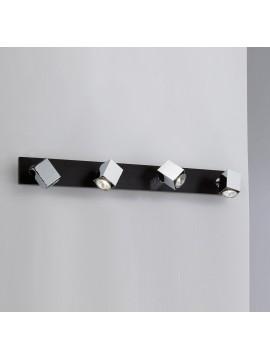Spot light modern 4 lights wood wengè tpl 1020-f4
