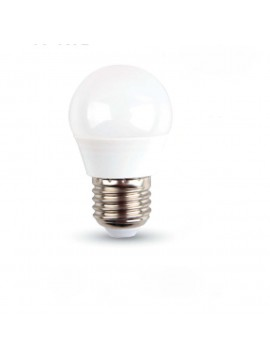 Led light bulb miniglobo 6W e27 large attack