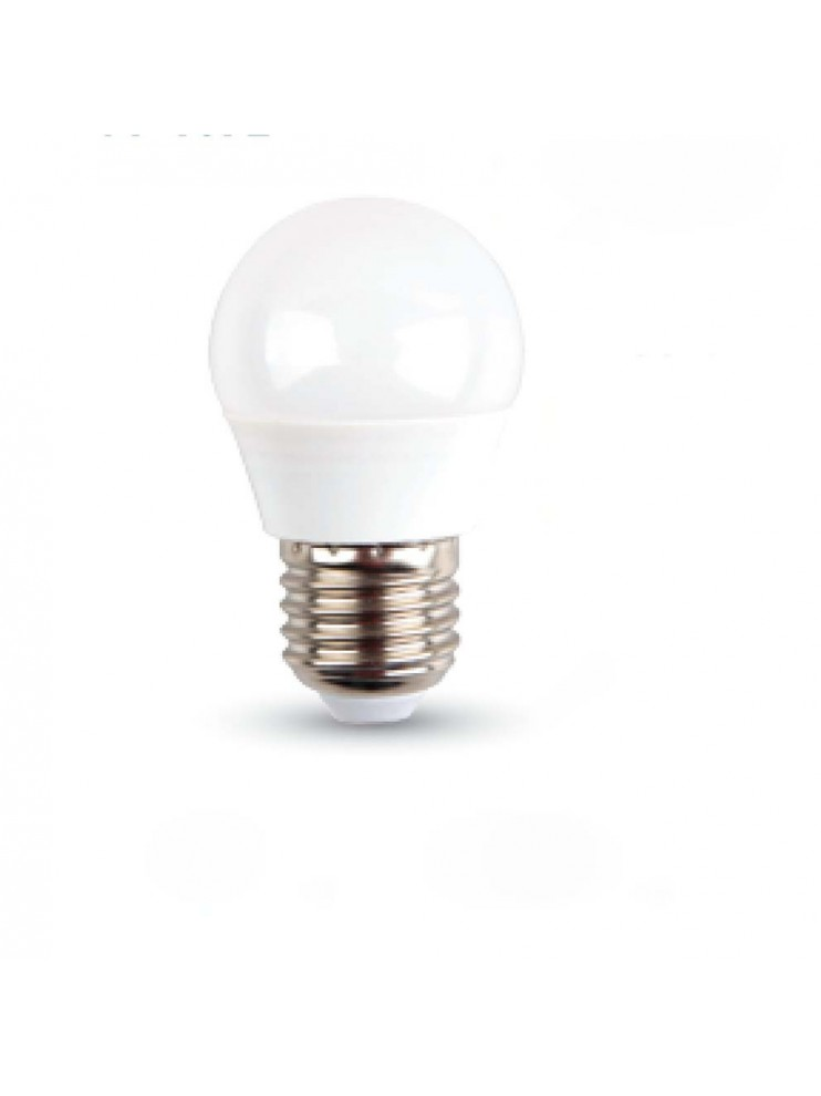 Lampadina a led miniglobo 6w e27 attacco grande for Lampadina e27 led