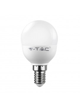 Led miniglobo bulb 6W e14 small attack