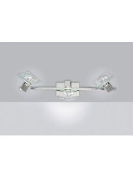 3 lights modern spot light with 1031-f3 tpl glass