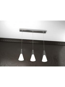 Lampadario moderno design 3 luci tpl 1097-s3